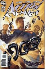 SUPERMAN in ACTION COMIC #900 signed 1:5 ADAM HUGHES variant 1st print RENOUNCES