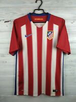 Atletico Madrid player issue jersey S 2015 2016 home shirt soccer football Nike