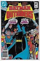 Batman and the Outsiders 1 New Team 1st Baron Bedlam Geo-Force Origin