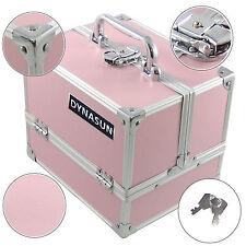 Coffret Mallette Valise de Beauté DynaSun BS35 Pink Voyage Cosmétique Maquillage
