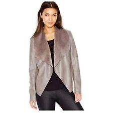 Msrp 100 Bar Iii Faux Leather Open Jacket Size Xl Nwot
