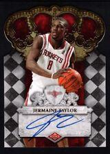 JERMAINE TAYLOR 2009/10 CROWN ROYALE RC ROOKIE AUTOGRAPH SP AUTO MINT #/699 $20