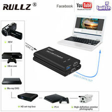 USB3.0 HDMI Video Capture Card Mic in TV Out Game Recording Box Live Streaming