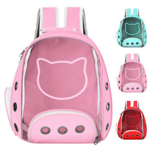 Pet Carrier Backpack Cat Dog Puppy Travel Carrier with Breathable Mesh Outdoor