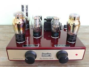 TUBE PREAMPLIFIER INSPIRE by DENNIS HAD LP-2030 CLASS A 01A, UX201, UX301 TUBES
