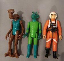 Vintage 1978 Star Wars Original Luke Skywalker X-Wing Pilot~Hammerhead & Greedo