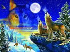 Howling Wolves 1000 Pc Jigsaw Puzzle By SunsOut For Sale