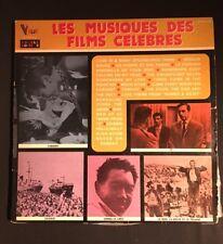 LES MUSIQUES DES FILMS CELEBRES 2LP'S  Vinyle