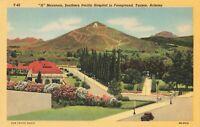 Postcard A Mountain Tucson Arizona