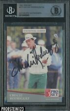 1991 Pro Set Golf #277 Chi Chi Rodriguez Signed AUTO BGS BAS Authentic