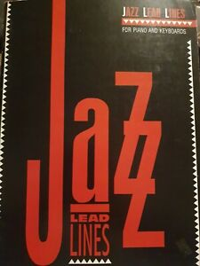 Jazz Lead Lines For Piano And Keyboards