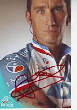 CYCLISME ** carte cycliste DIDIER ROUS  équipe BOUYGUES TELECOM 2007 signée