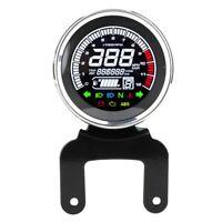 12V LCD Motorrad Tachometer Digital Kilometerzähler Tacho Drehzahlmesser ❤❤