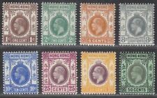 Hong Kong 1912-21 King George V Part Set to 50c Mostly Mint