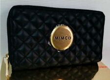 *Authentic* MIMCO BLACK REVOLUTION MIM WALLET GOLD BADGE *SOLD OUT STYLE*