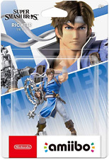 Amiibo Richter (Super Smash Bros) Brand New - Region Free