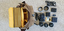 Olympus EVOLT E-510 10.0MP Digital SLR Camera - Kit w/three lenses, filters, bag