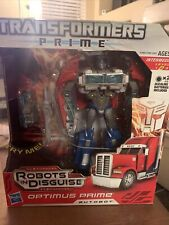 Hasbro Transformers Prime Robots in Disguise - Optimus Prime Voyager Class