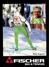 Peter Angerer Autogrammkarte Original Signiert Biathlon+A 125055