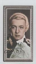 1936 Godfrey Phillips Stars of the Screen Tobacco Base #40 Clive Brook Card 0v9