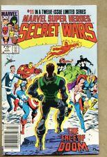 Marvel Super-Heroes Secret Wars #11-1985 vf- 7.5 Bob Layton Newsstand Variant