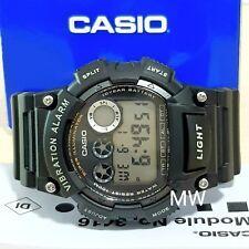 e3c604a922ae Reloj Deportivo alarma de Vibración Casio Illuminator W-735H-1A Digital  Hombres adolescentes W735H