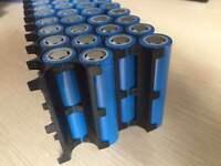 10pcs E-bike battery assemble li-ion 18650 battery holder case bracket new ABS