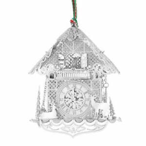 CHRISTMAS HANGING SILVER PLATED & CERAMIC ORNAMENTS, NEWBRIDGE SILVERWARE