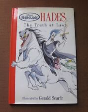 SIGNED - HADES by Gerald Scarfe - 1st/1st HCDJ 1997 - Walt Disney Hercules