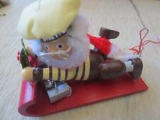 hershey kurt adler christmas collector ornament - vintage 1992 elf sled