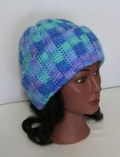 Crochet Toboggan-- Color--Ocean