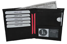 HIPSTER WALLET GENUINE LEATHER 6 CREDIT CARD SLOTS GREAT GIFT IDEA