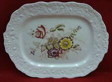 "MASON'S china FRIARSWOOD pattern Large Oval Serving Platter - 16-3/4"""