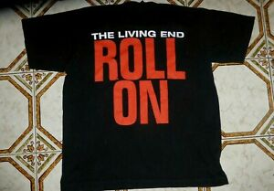 The Living End T-Shirt Roll On Size 12 Chris Cheney   Official & original 2000