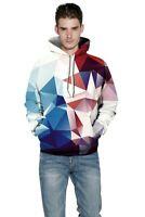 Jumper Sweatshirt Pullover Hooded Mens 3D Print Unisex Tops Womens Graphic