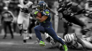 {24 inches X 36 inches} Marshawn Lynch Poster #1 - Free Shipping!