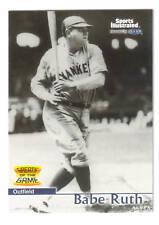 Babe Ruth 1999 SI Fleer Greats #3 Yankees 99 SHARP!