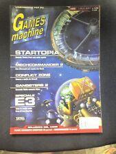THE GAMES MACHINE 145 MECHCOMMANDER 2 STARTOPIA NASCAR 4 ULTIMA ONLINE TRAIN SIM