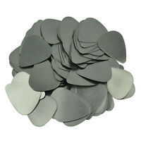 Lots of 100 pcs New 0.3mm Stainless Steel Guitar Picks Plectrums No Printing