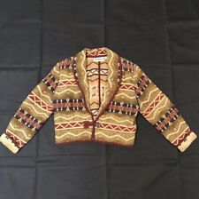 Flashback Tribal Jacket Women's Blazer Bolero  Aztec Burning Man Festival Sz S