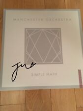 MANCHESTER ORCHESTRA SIGNED 12x12 PHOTO COA EXACT PROOF AUTOGRAPHED ANDY HULL