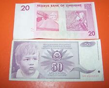 TWO  FOREIGN  BANK NOTE'S SET  SEVEN (No.8)
