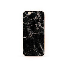 Granite Marble Stone Effect Soft Case Cover For iPhone 4S 5 5S 6 6s Plus 7 Plus