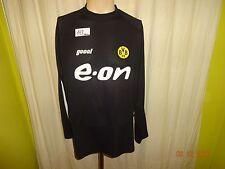 "Borussia Dortmund gool Langarm Auswärts Training Trikot 02/03 ""e-on"" Gr.XXL Neu"