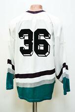 NHL ANAHEIM DUCKS ICE HOCKEY SHIRT JERSEY #36 SIZE L ADULT