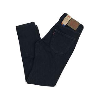 Levi's Mens 512 Slim Taper Jeans Dark Blue Size 30x32 All Seasons Tech