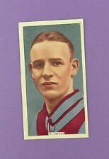 Godfrey Phillips - International Caps 1936 # 24, D. Astley of Aston Villa