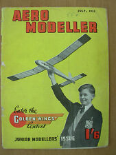 VINTAGE MAGAZINE AERO MODELLER JULY 1955 FULL OF PLANS & DESIGNS FOR MODELS