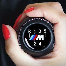 BMW M Sport 5 Gang Leder Schaltknopf Schaltknauf E24 E28 E30 E32 E38 E53 X5 Z3