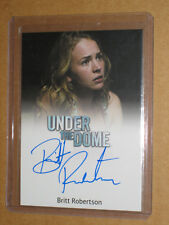 ✨ Under The Dome Angie Britt Robertson Auto Sexy Movie Girl autograph card ✨